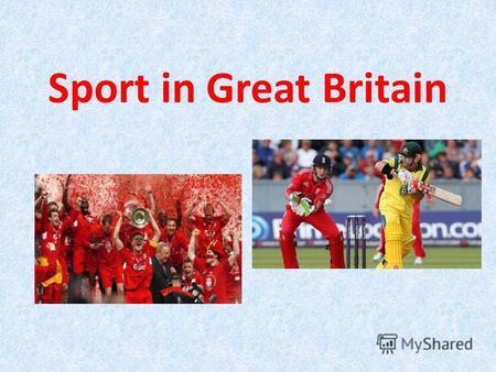 Реферат на английском языке про спорт в великобритании 5793