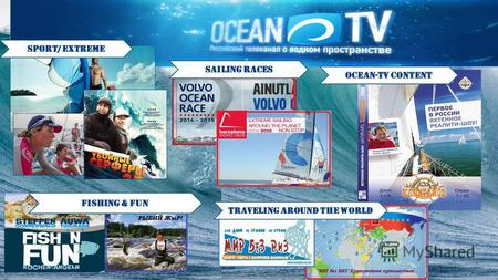Sport/ extreme sailing races ocean-tv content Fishing & fun traveling around the world.