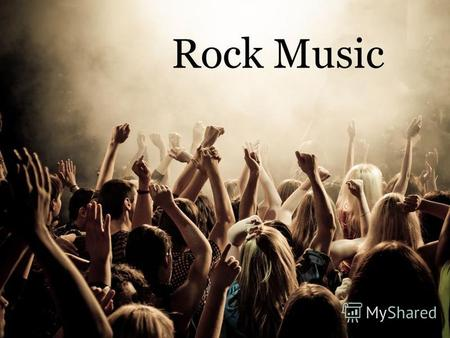 Rock Music History Rock music is a genre of popular music that originated as rock and roll in the United States in the 1950s, and developed into a.