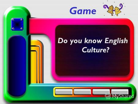 Game Do you know English Culture?. PhoneticsBlitz Guides Proverbs Captains.