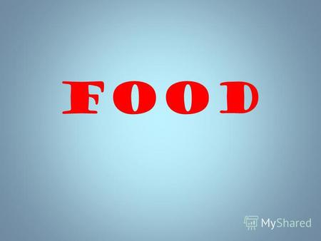 Food We eat to live, but not live to eat Food can be healthy and unhealthy.