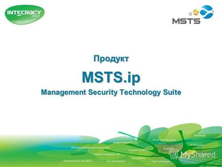 ПродуктMSTS.ip Management Security Technology Suite.