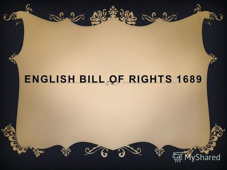 ENGLISH BILL OF RIGHTS 1689. This article on the Bill of Rights in Colonial America provides fast facts and information about the effects of the English.