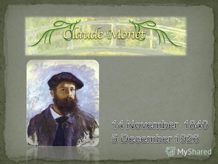 Claude Monet was a key figure in the Impressionist movement that transformed French painting in the second half of the nineteenth century. Throughout.