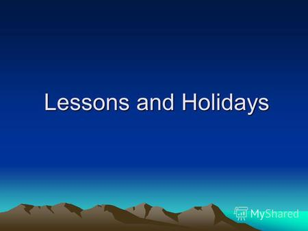 Lessons and Holidays. Find the odd word read in a different way. teacher, speak, break, please, read, Easter Technology, school, French, Christmas London,