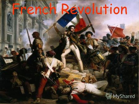 French Revolution. It was the best of times, it was the worst of times, it was the age of wisdom, it was the age of foolishness, it was the epoch of belief,