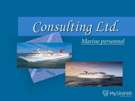 Consulting Ltd. Marine personnel Consulting Ltd..