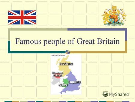 Famous people of Great Britain. The Greatest Britons of all Time chosen by the people of Britain.