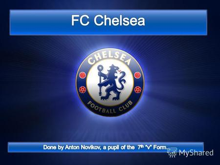History The first staff of Chelsea in September 1905 Chelsea was formed on March, 14th, 1905 and was selected in football league soon after the matchfora.