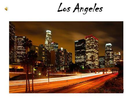Los Angeles. Second in size only to New York, Los Angeles is a large, bustling metropolitan area in Southern California. Everything is on the grand scale.