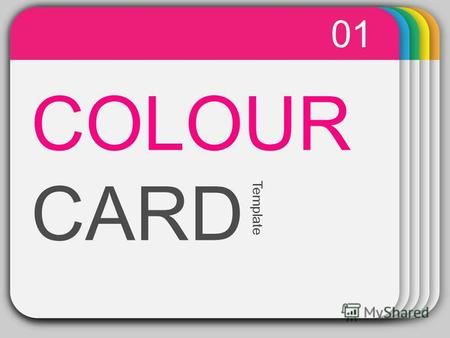 WINTER Template COLOUR CARD 01 Template. PowerPoint chart object 02.