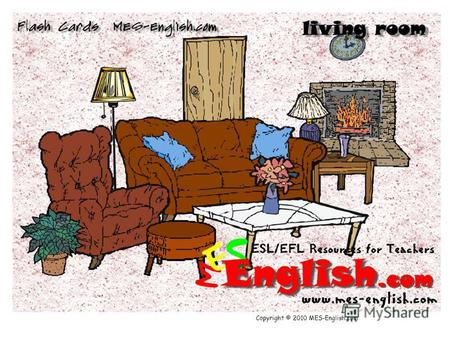 Copyright © 2010 MES-English.com. a sofa a recliner.
