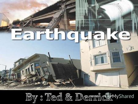 What is an earthquake An earthquake is a shaking of the ground caused by the sudden breaking and movement of large sections (tectonic plates) of the earth's.