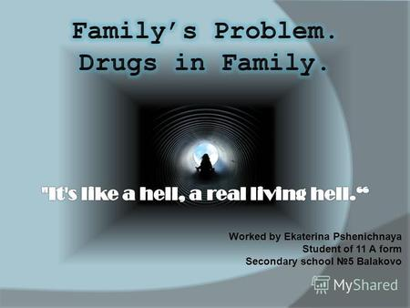 Drugs problem use has a profound impact on all familys members. Mothers and fathers, brothers and sisters are caught in the maelstrom that drugs problems.