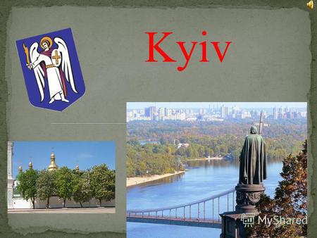 Kyiv The area of the capital is nearly 800 sq. km. Its population has started growing recently and at the beginning of 2004 was 2611 thousand people, most.