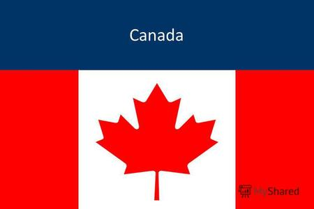 Canada Canada is the second largest country the world. 35 507 874 people live there.