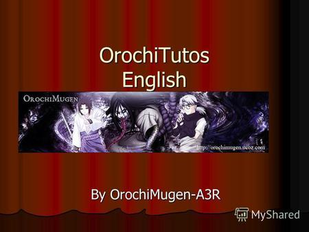 OrochiTutos English By OrochiMugen-A3R. 1. Upload sprite.