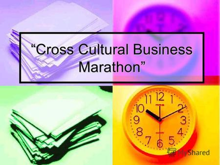 Cross Cultural Business Marathon Time is Money Competition of Linguacultural Experts 1.London2.Newcastle3.Liverpool4.Glasgow5.Manchester A.textiles,