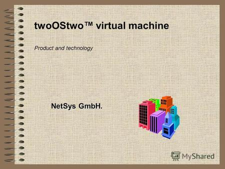 TwoOStwo virtual machine NetSys GmbH. Product and technology.