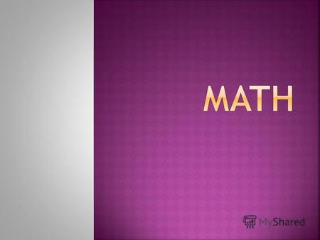 term in patterns math