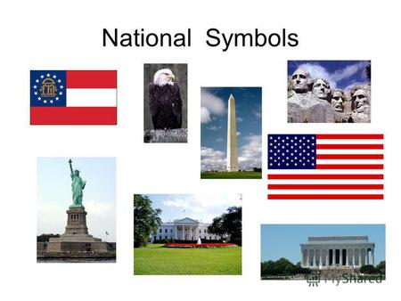 National Symbols Click on the picture of the Washington Monument.
