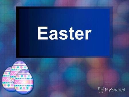 Easter Easter occurs on the first Sunday after either the first full moon or after March 21.