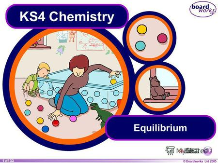 © Boardworks Ltd 2005 1 of 33 KS4 Chemistry Equilibrium.
