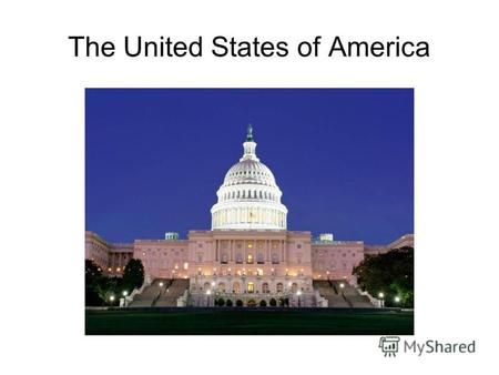 The United States of America. The White House The President Obama.