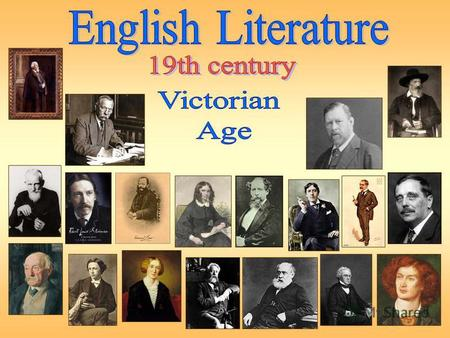 In Britain, the 19 th century is traditionally called the Victorian age. Victorian is a descriptive term for the time when Victoria was Queen of England,