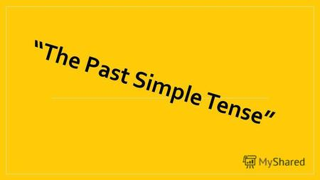 The Past Simple Tense. sami lahiji@yahoo.com [ae] fat, thank, jam, angry [e] breakfast, friend, welcome, went, fell [d] do, did, opened, dog [t] sit,