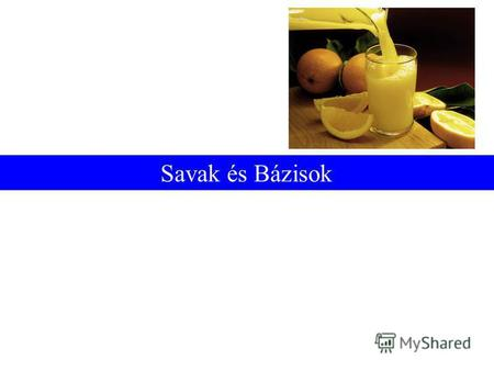 Savak és Bázisok. Prentice-Hall © 2002General Chemistry: Chapter 17Slide 2 of 47 Az Arrhenius Elmélet: HCl(g) H + (aq) + Cl - (aq) NaOH(s) Na + (aq) +