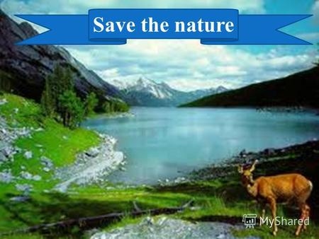 Save the nature. Guess the meanings and translate them into Russian and Kazakh. 1. It is the earth with all people, animals and plants. (world – мир-