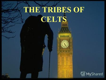 THE TRIBES OF CELTS. Celtic tribes were represented by: the Picts, the Scots, the Britons.