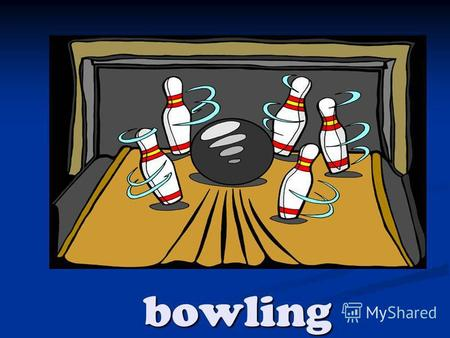 Bowling fitness training karate weight training.