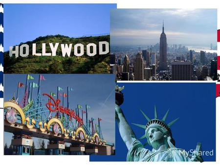 The United States of America Geographical position Symbols Sights Capital Holidays Famous people.