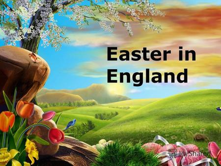 Easter in England. Today we are going to: to practice the English tongue-twister to learn about Easter traditions in England to speak about Easter in.