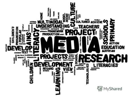 THE MEDIA The mass media play an important part in our lives. Nowadays information is the most necessary thing. That is why there are so many sources.