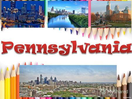 Pennsylvania is the 33rd most extensive, the 6th most populous, and the 9th most densely populated of the 50 United States. The state's four most populous.