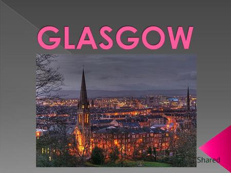 Glasgow is located on the north-west of the UK, in the central part of the Central Scottish Lowlands to the northern highlands on the Clyde River, 32.