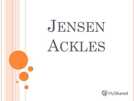 J ENSEN A CKLES. S UMMARY OF THE MAIN Jensen Ross Ackles (born March 1, 1978) is an American actor and director. He is known for his roles in television.