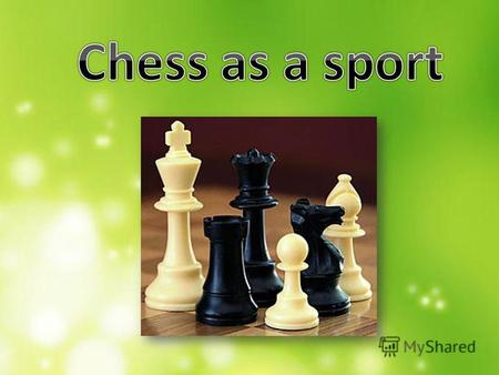 Those who lean towards chess as being a sport look to broad definitions of sport to find a way to fit chess into that category. While they admit that.