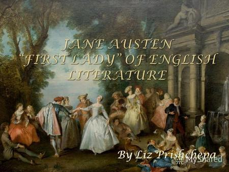 Jane Austen - (16 December 1775 – 18 July 1817) was an English novelist whose works of romantic fiction earned her a place as one of the most widely read.