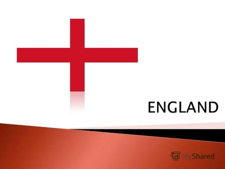 England situated in the southeastern part of Great Britain. It borders with Scotland to the north, in the west - with Wales. The territory of England.