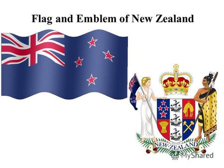 Flag and Emblem of New Zealand. Independence Day is celebrated on September, 26.
