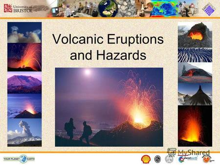 Volcanic Eruptions and Hazards. What is a volcano? A volcano is a vent or 'chimney' that connects molten rock (magma) from within the Earth s crust to.