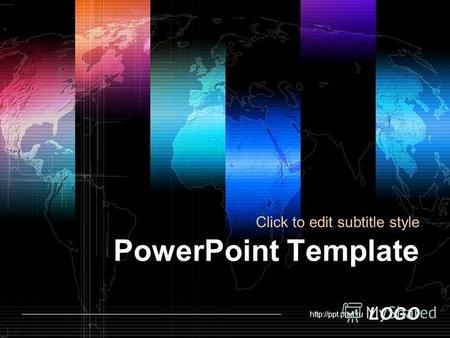 LOGO PowerPoint Template Click to edit subtitle style.
