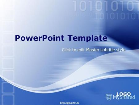 LOGO Click to edit Master subtitle style PowerPoint Template.