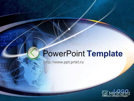 LOGO Edit your company slogan PowerPoint Template.