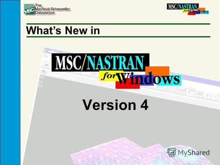 Version 4 Whats New in. Enhancements n Geometry Enhancements n STEP CAD Interface n Improved Semi-Automatic Hex Meshing n Attributes (Properties, Materials,