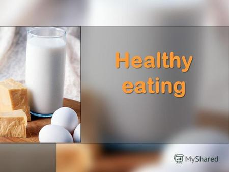 Healthy eating. Complete the sentences: 1. The modern bad habits are … 2. … is really a good way to live. 3. Our town life today gives us little opportunities.